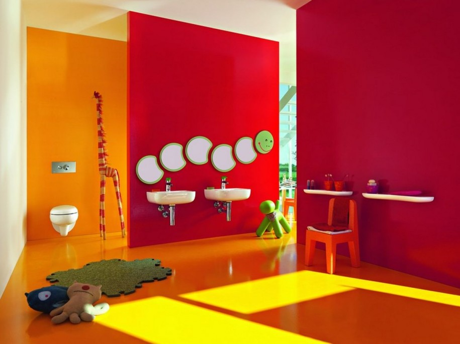 30 colorful and fun kids bathroom ideas. Black Bedroom Furniture Sets. Home Design Ideas