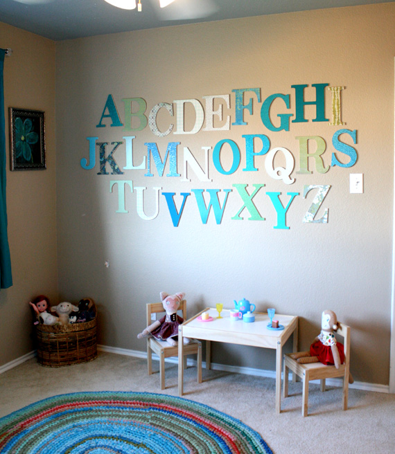 Kids Room Wall Ideas: 25 Cute DIY Wall Art Ideas For Kids Room
