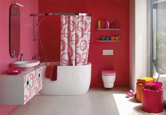 30 Colorful and Fun Kids Bathroom Ideas