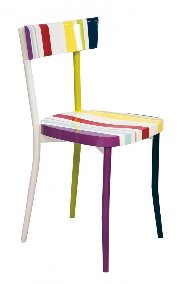 20 Elegant Stripe Furniture Ideas