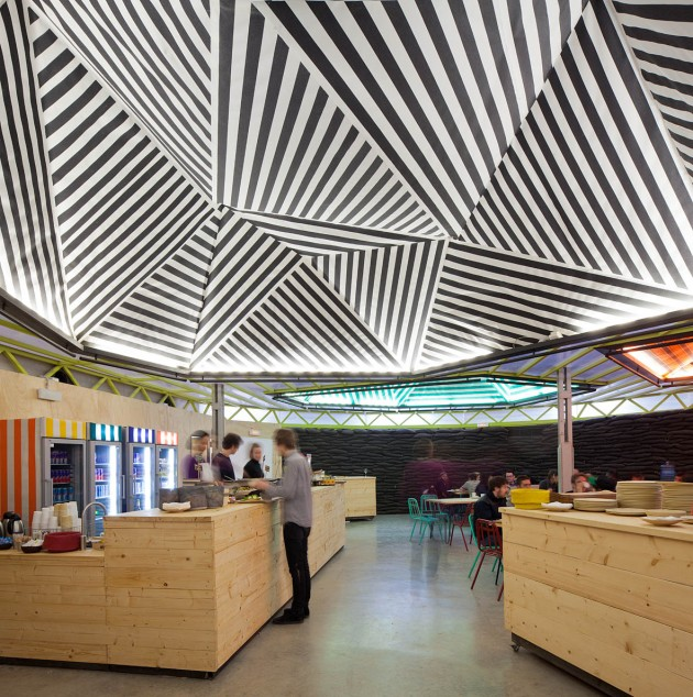 Reused Industrial Building   Red Bull Music Academy by Langarita Navarro Arquitectos