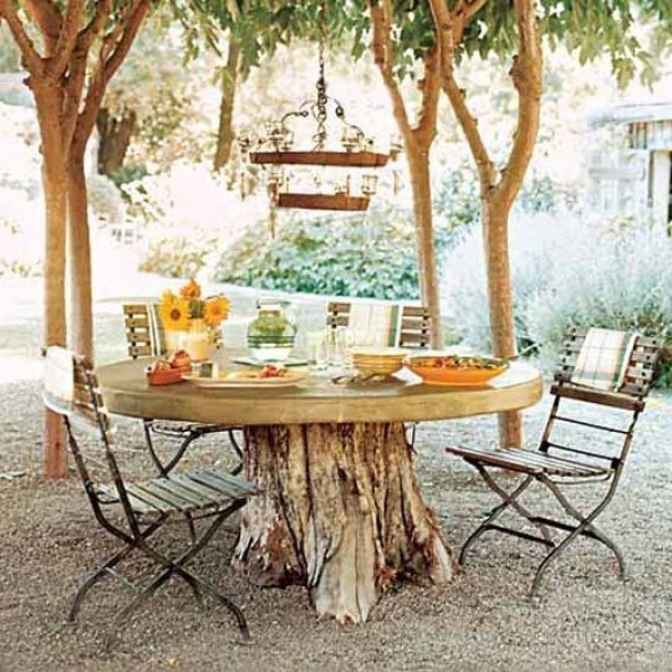 30 delightful outdoor dining area design ideas for Dining area ideas