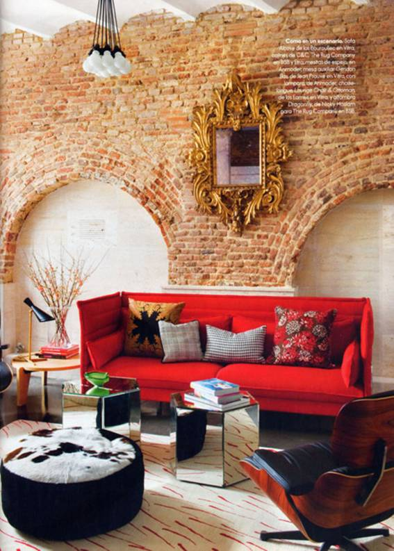 30 Amazing Apartments with Brick Walls