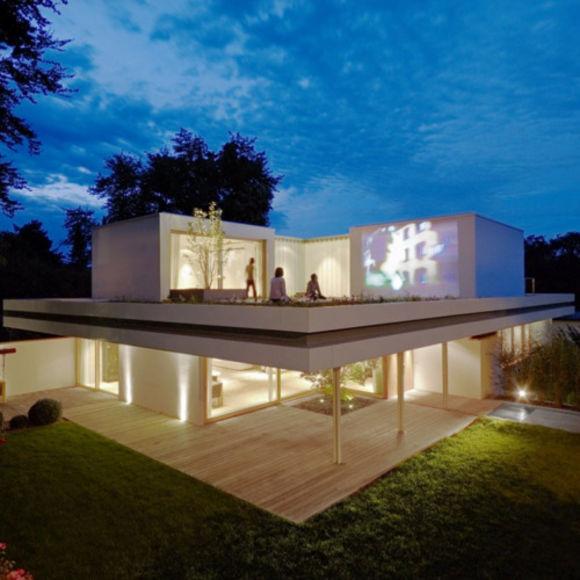 25 Amazing Outdoor Home Cinemas