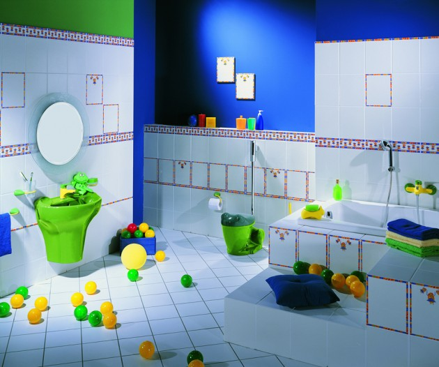 fun bathroom ideas can also teach good habits like cleaning up