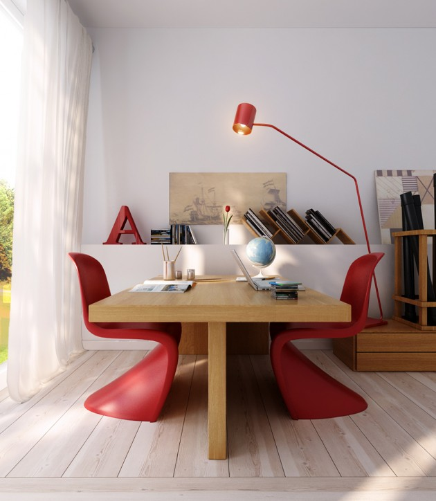 20 Modern Office Desk Lamp Designs