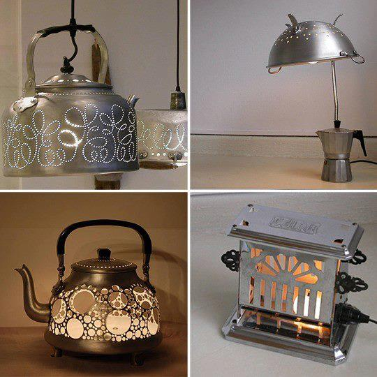 Cool Kitchen Stuff: 30 Adorable Repurposed Kitchen Items