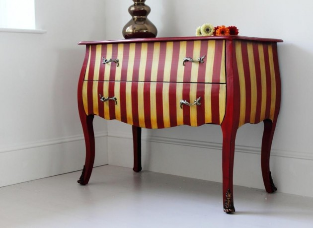 20 Elegant Stripe Furniture Ideas