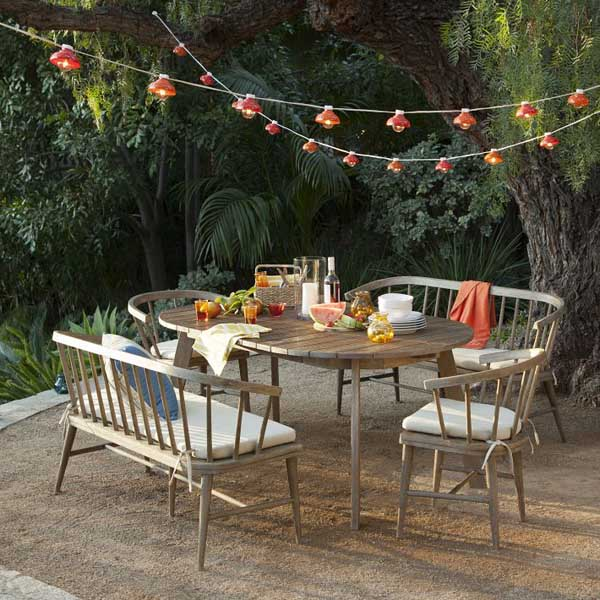 Ideas And Designs For Your Alfresco: 30 Delightful Outdoor Dining Area Design Ideas