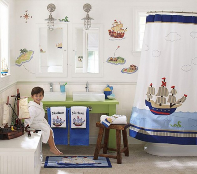 30 Colorful and Fun Kids Bathroom Ideas on Fun Bathroom Ideas  id=58425