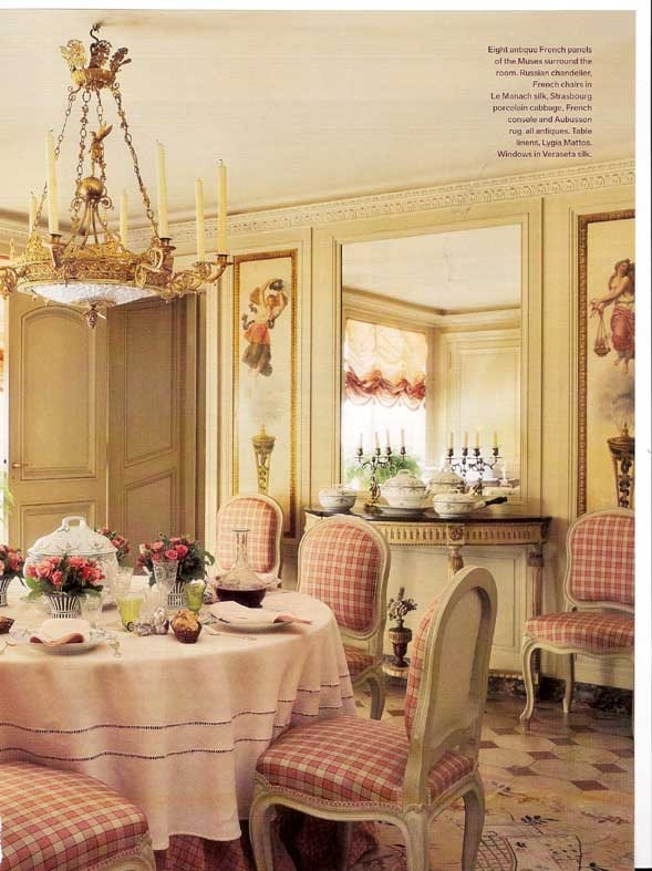20 Country French Inspired Dining Room Ideas