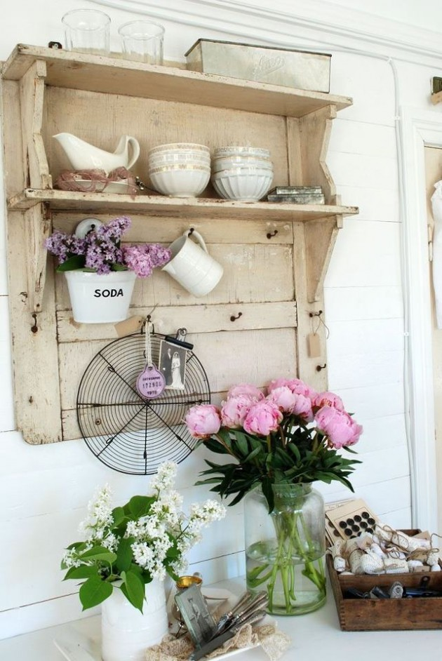 36 fascinating diy shabby chic home decor ideas Home design ideas shabby chic