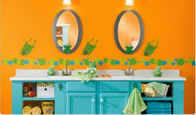 30 Colorful and Fun Kids Bathroom Ideas on Fun Bathroom Ideas  id=37491