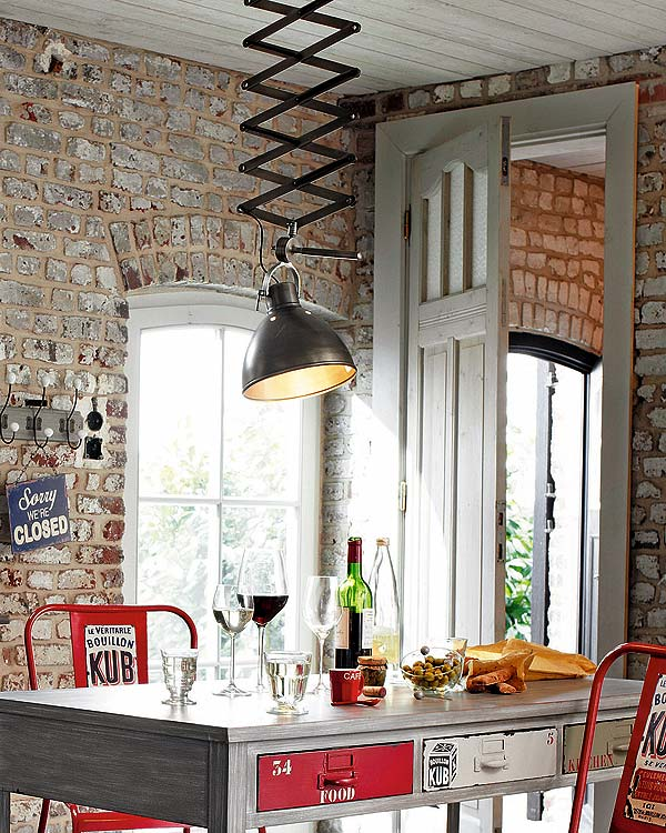 marvellous industrial chic kitchen | 30 Cool Industrial Design Kitchens