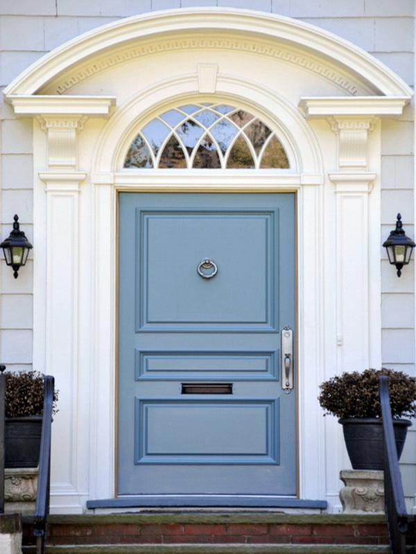 & 28 Lovely Colored Front Doors