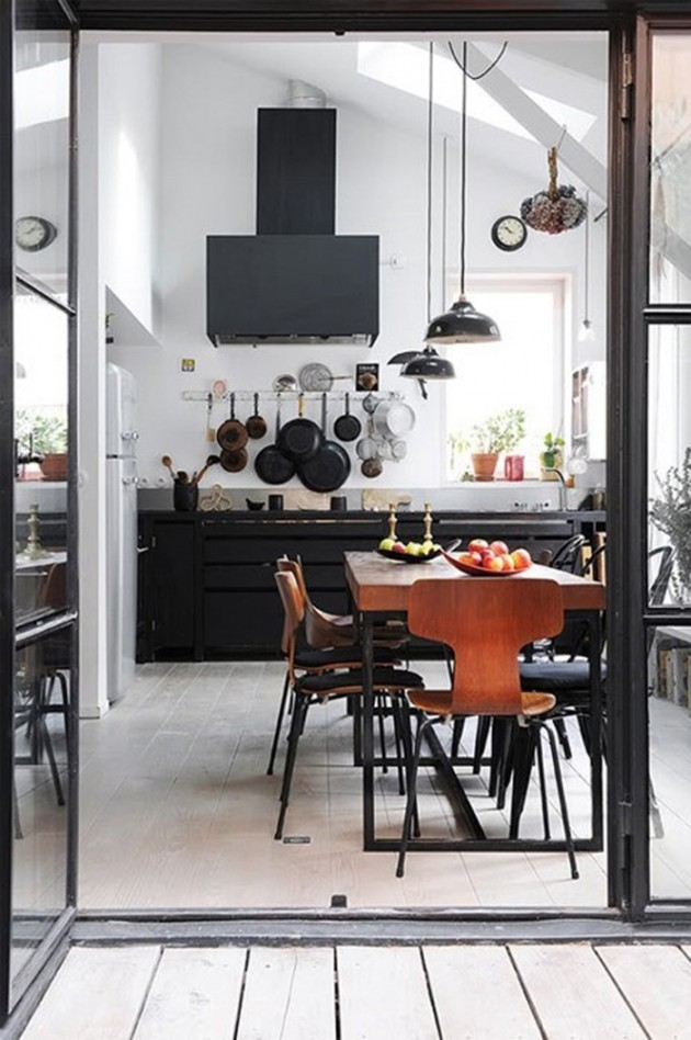 30 cool industrial design kitchens Industrial design kitchen ideas