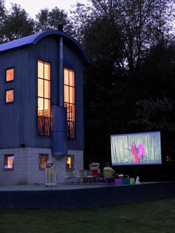 25 Amazing Outdoor Home Cinemas