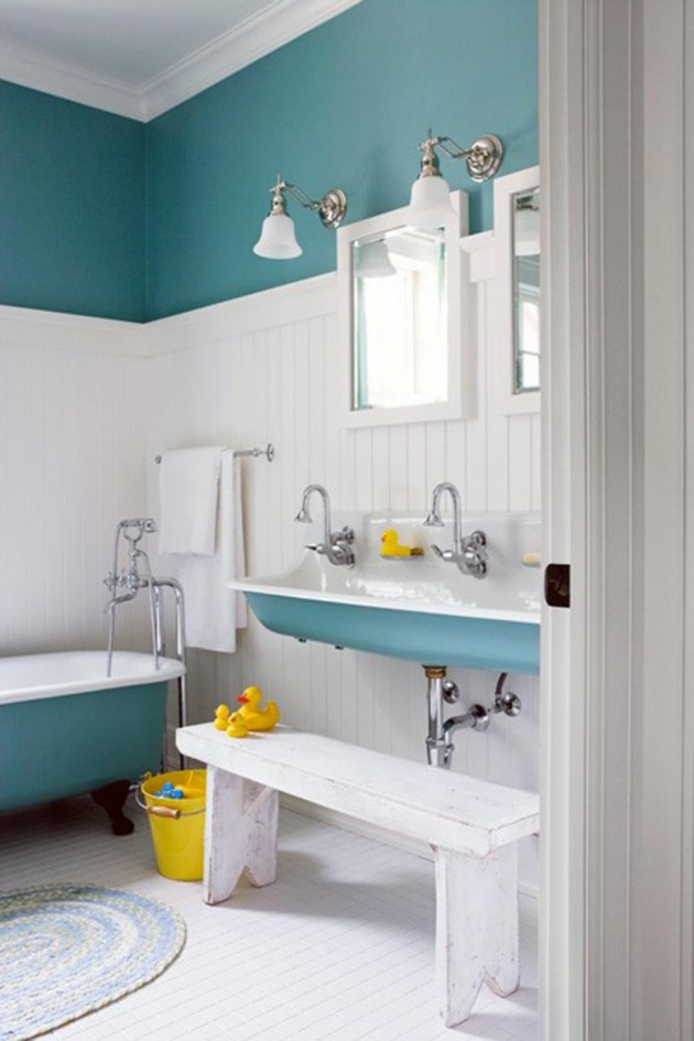 Etonnant 30 Colorful And Fun Kids Bathroom Ideas