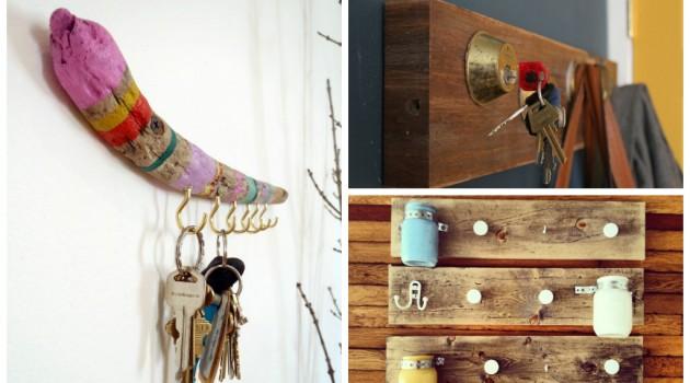 20 DIY Creative Key Holders