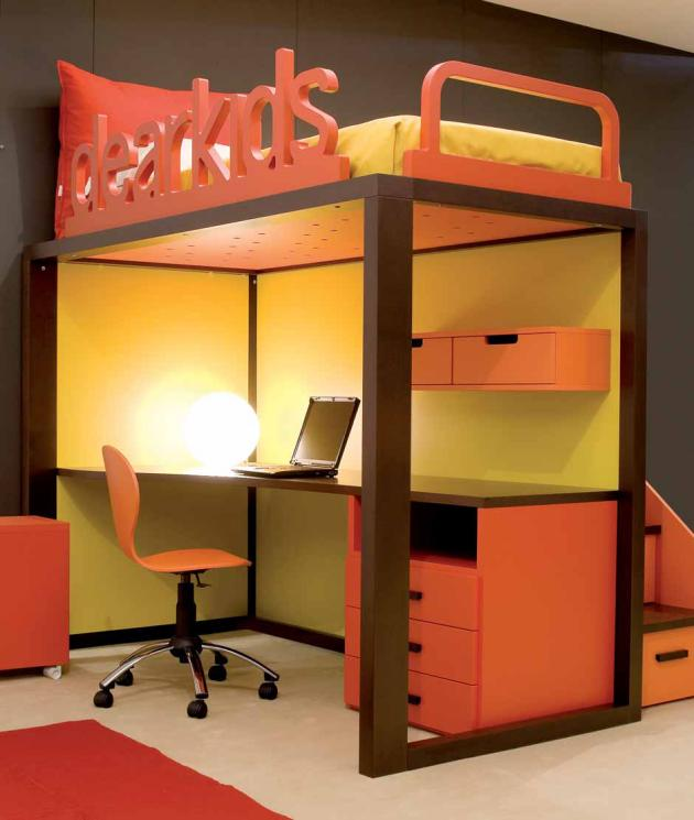 Bedroom Designs For Kids Children colorful and inspirational kids room desks for studying and