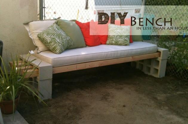 bench DIY