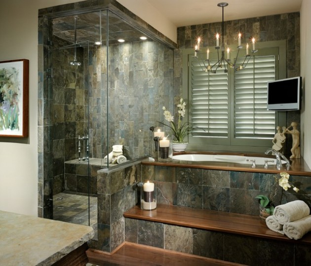 30 shower seats design ideas