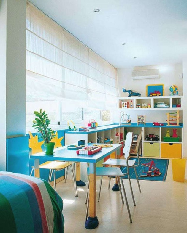 Children S And Kids Room Ideas Designs Inspiration: 22 Colorful And Inspirational Kids Room Desks For Studying