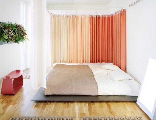 22 Clever Ideas of Ombre Interior Designs