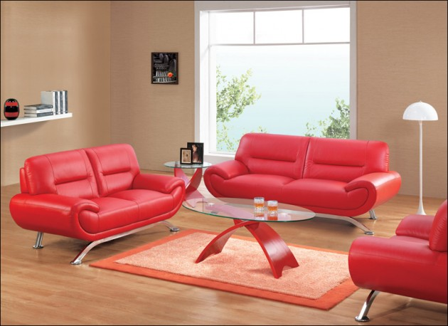 16 Dramatic Design Ideas with Red Color