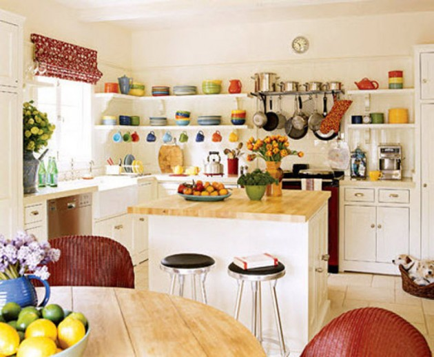 Superb Design Of Kitchen Shelf #2: Top 22 Extraordinary Kitchens With Open Shelves