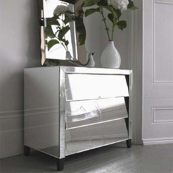 Ultra Modern Mirror Covered Furniture, Modern Mirrored Furniture