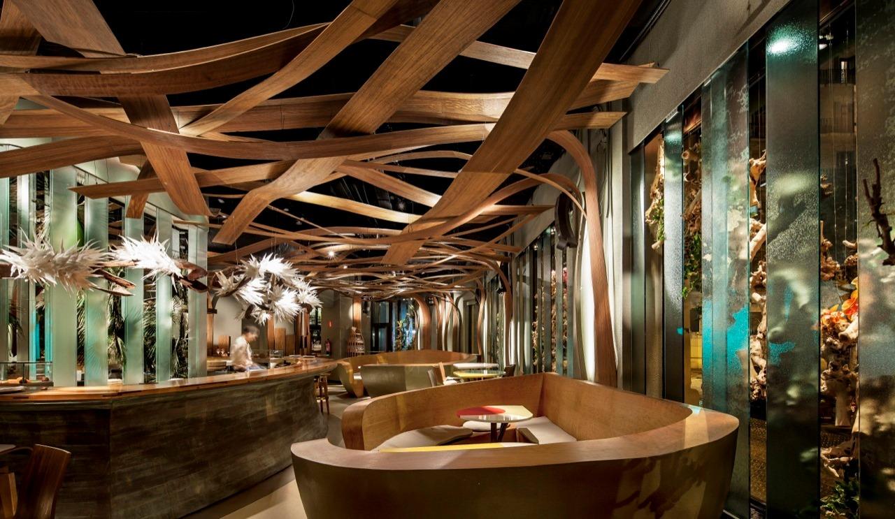 Ikibana paral restaurant by el equipo creativo