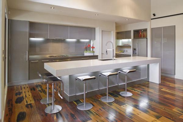 fabulous black white kitchen design ideas | 38 Fabulous Kitchen Island Designs