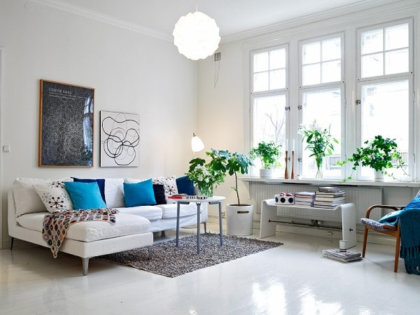 stylish scandinavian living room design ideas