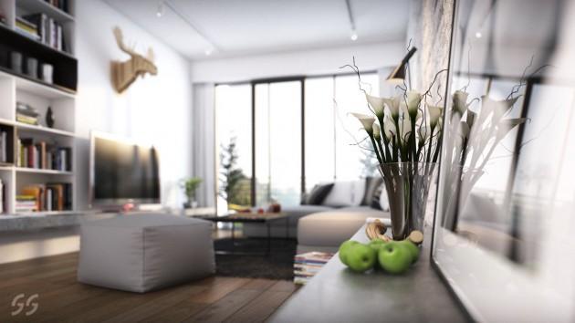 White Clean Bedroom