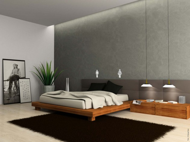 25 fantastic minimalist bedroom ideas for Minimalist bedding ideas