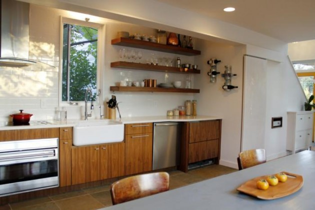 Modern Kitchen Shelves Glamorous 22 Extraordinary Kitchens With Open Shelves