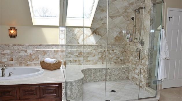 30 Irreplaceable Shower Seats Design Ideas