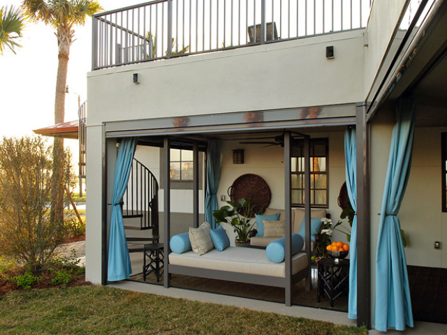 23 Wonderful Outdoor Curtains Ideas, Outdoor Curtains For Balcony