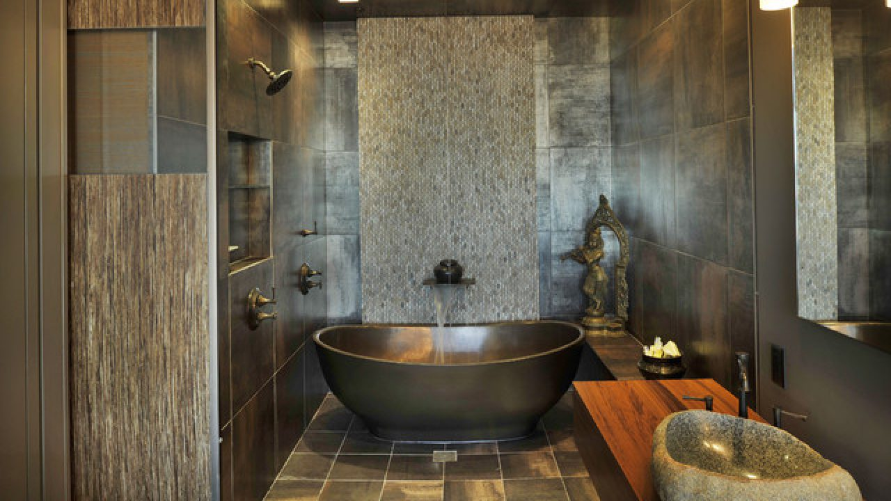 7 Amazing Asian Inspired Bathroom Design Ideas