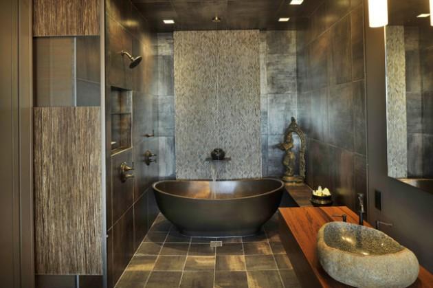 Asian Inspired Bathroom Design Ideas
