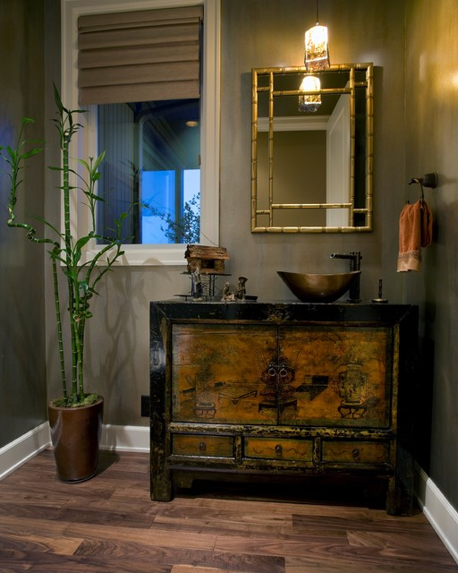 Charming Oriental Bathroom Ideas Design