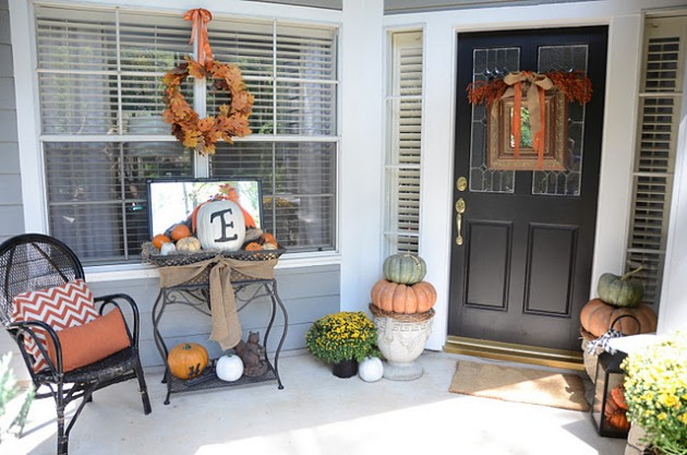30 Adorable Diy Fall Porch Ideas