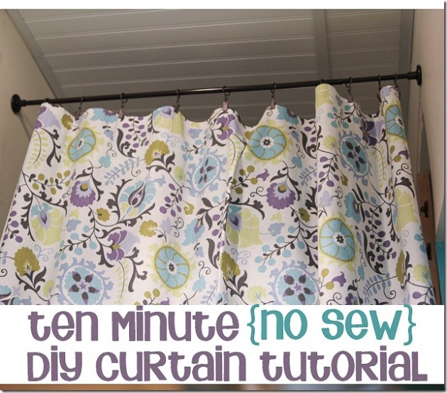 20 budget friendly no sew diy curtains ideas solutioingenieria Choice Image