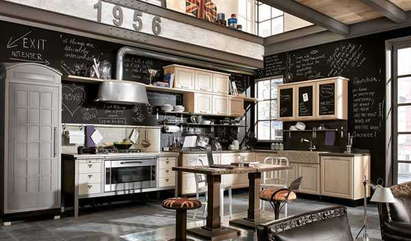Lovely 25 Lovely Retro Kitchen Design Ideas