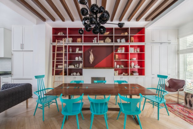 20 Adventurous Examples of Accented Interiors