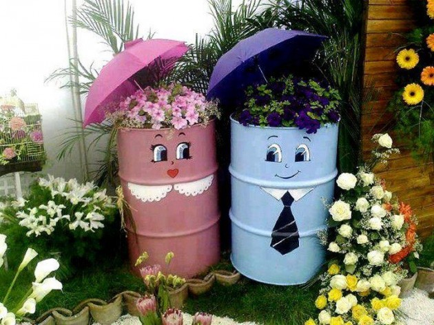 30 Fascinating Low Budget DIY Garden Pots