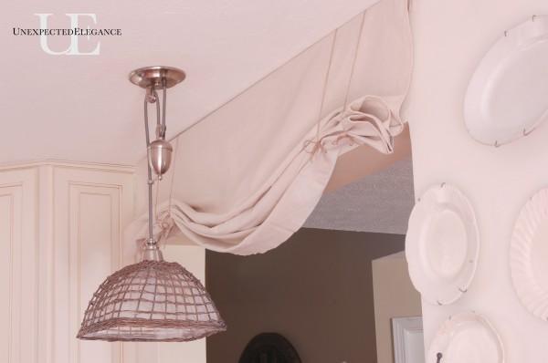 No Sew Valance Curtains