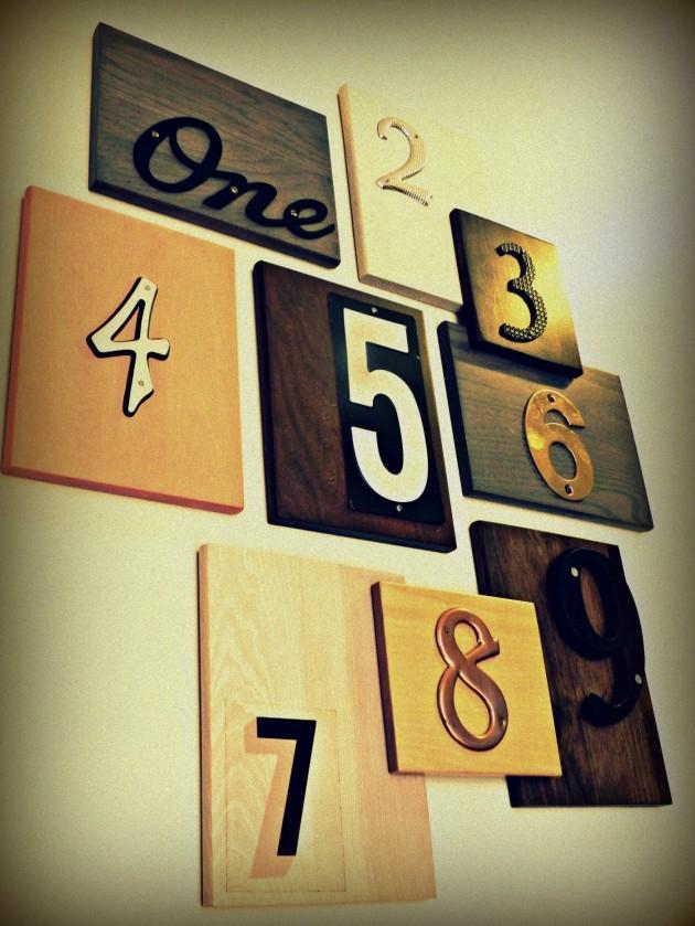 34 Wonderful DIY Typographic Home Decor Ideas