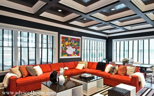 30 Magnificent Unique Ceiling Designs